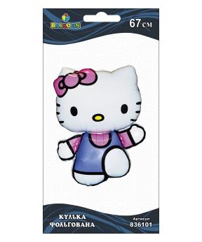 Купить Шар фольг. Hello Kitty, 67см (индивидуальная упак.)