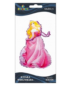 Купить Шар фольг. принцесса Аврора, 84см (индивидуальная упак.)