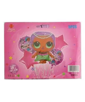 Купить Набор с 5 шаров, кукла LOL Русалка