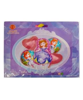 Купить Набор с 5 шаров, принцесса София