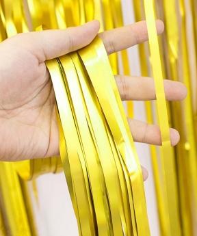 Купить Фотозона 2м*1м, сатин золото