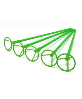 Купить Палочка 50см з кріпленням для  кульки фольгов./ зелений