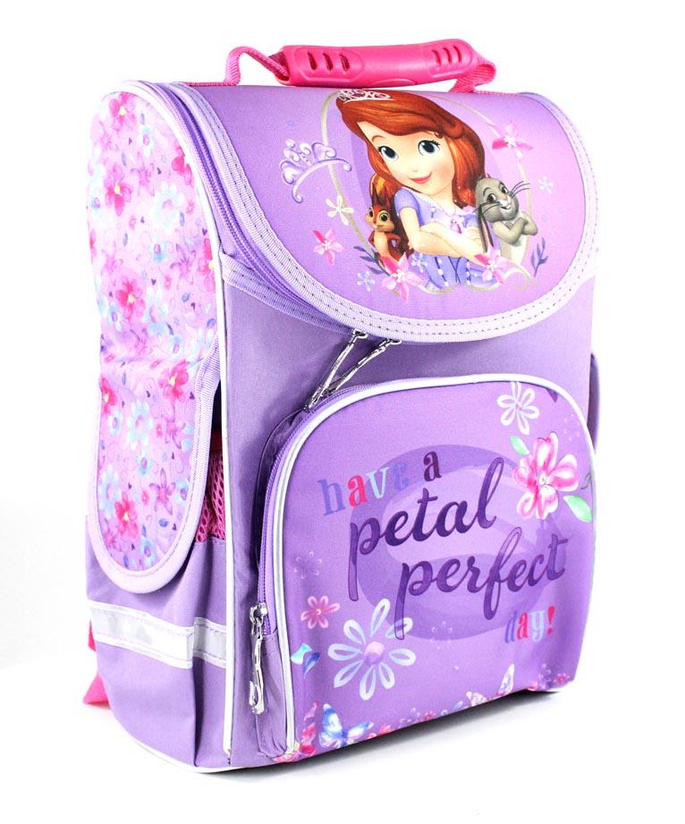 """Рюкзак-короб Smile 988669 """"DISNEY принцеса Софія з кроликом""""  33*26*26 см"""