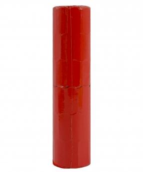 Купить Ценник фигурный  26*12мм,  4м  червоний (6шт/уп) Т-7