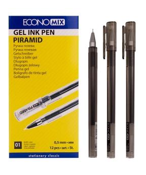Купить Ручка гелевая PIRAMIDA 0,5 mm черная