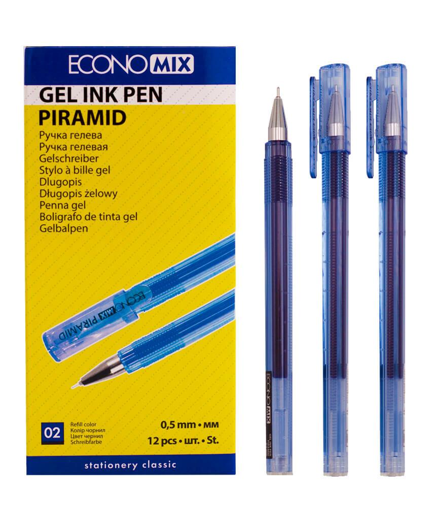 Ручка гелевая PIRAMIDA 0,5 mm синяя