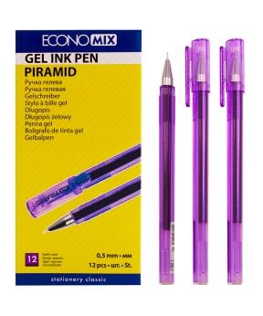 Купить Ручка гелевая PIRAMIDA 0,5 mm фиолетовая