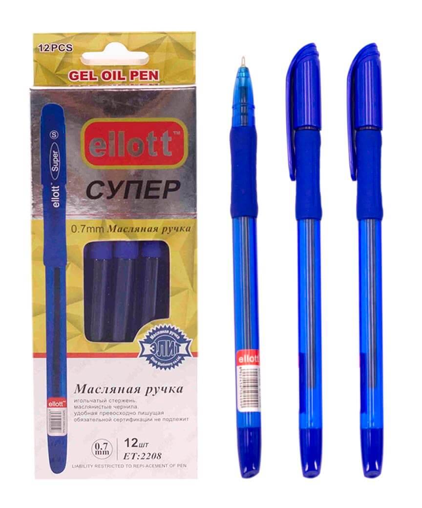 Ручка шариковая  2208-12, синяя