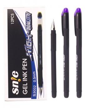 Купить Ручка гелевая 9002, фиолетовая