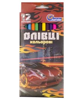 Купить Карандаши 12 цветов картон/упак Josef 7303-12A