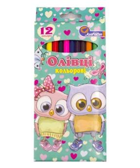 Купить Карандаши 12 цветов картон/упак Josef 7303-12D