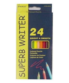 Купить Карандаши  24 цвета MARCO 4100-24СВ