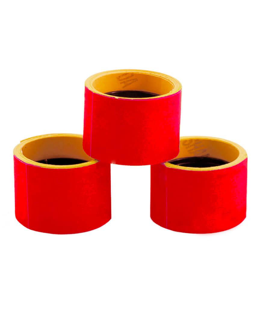 Ценник чистый  38*28мм,  4м  красный (5шт/уп) Т-13
