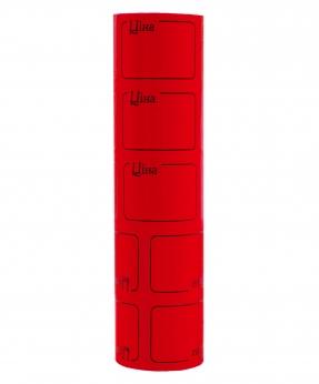 Купить Ценник с рамкой  38*28мм,  4м  красный (5шт/уп) Т-23