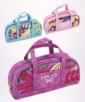 Купить Пенал-сумочка гламур цветные листья, L-9271  19*9*5см