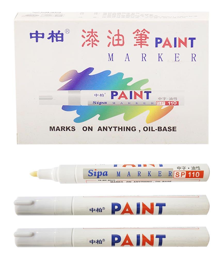 Маркер краска SP-110 белый