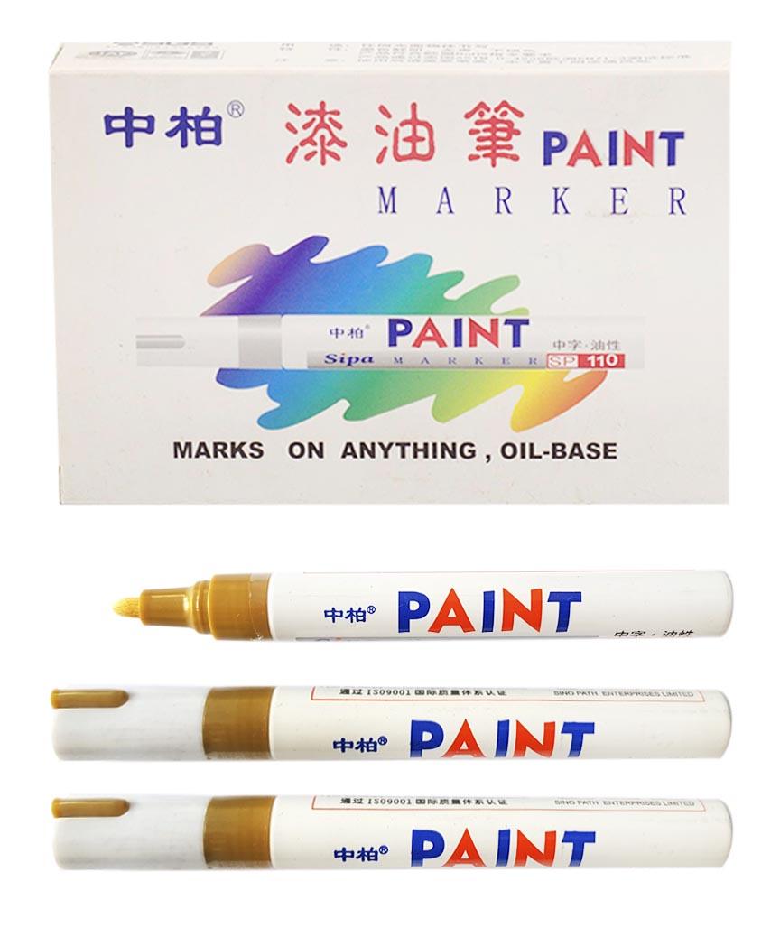 Маркер краска SP-110 золото