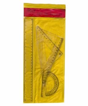 Купить Набор линеек пластиковый,прозрачный 30см 8013