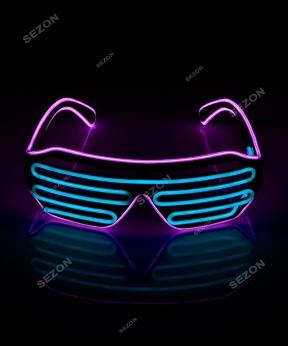 Купить Неонові окуляри-штори (решетка) HM-67