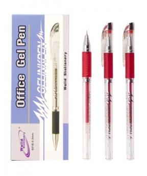 Купить Ручка гелевая 601, красная