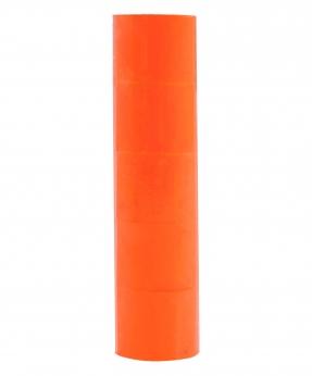 Купить Ценник чистый  38*28мм,  4м  помаранчевый (5шт/уп)  Т-16