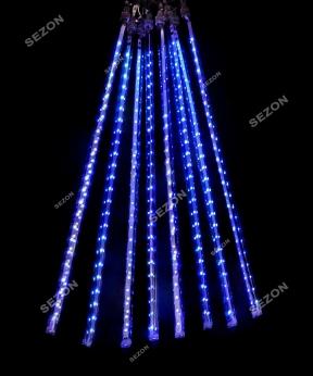 Купить Штора-ПАЛОЧКИ 8 шт  3м*0,5м, синій