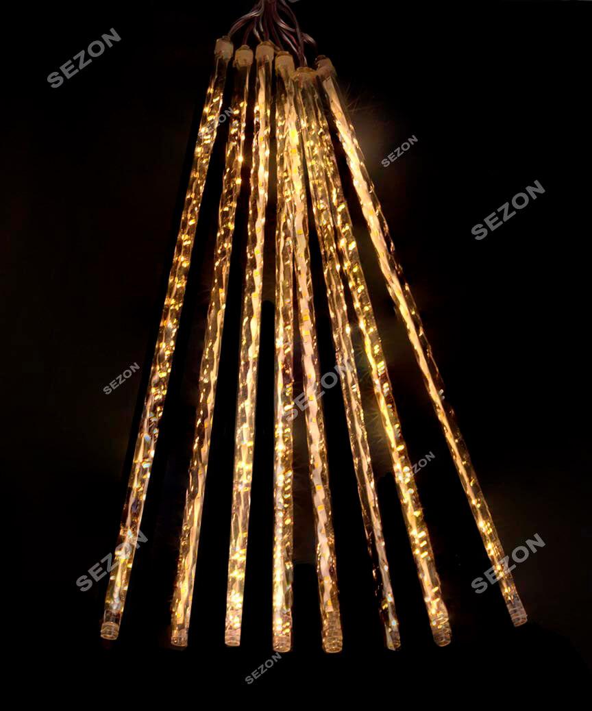ПАЛОЧКИ з LED стрічкою! 8шт. 3м*0,5м, білий теплий