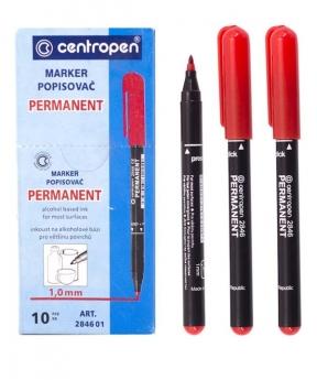 Купить Маркер CENTROPEN 2846 красный