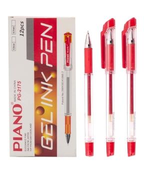 Купить Ручка гелевая PIANO PT-2175,красная