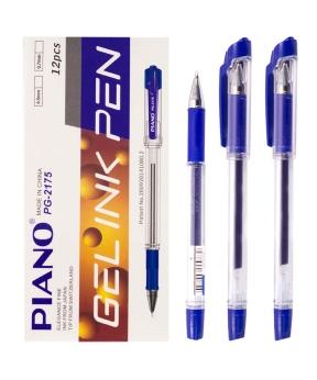 Купить Ручка гелевая PIANO PT-2175, синяя