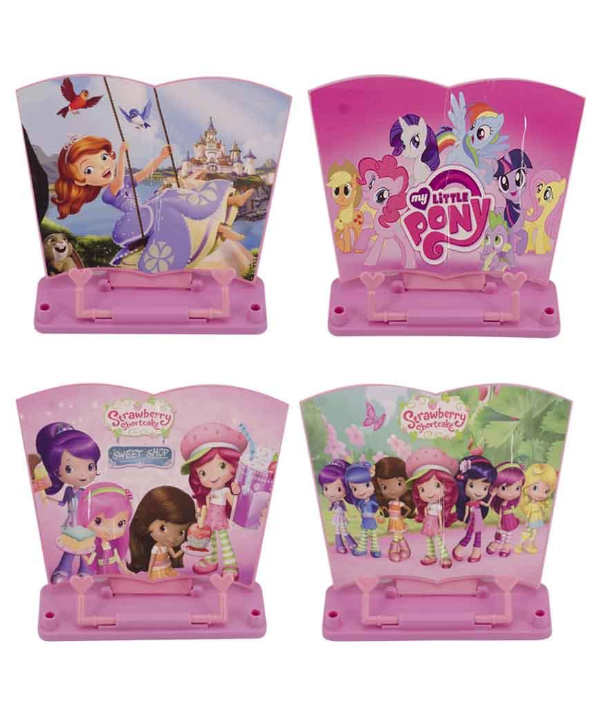 Подставка для книг (пластик) для девочек