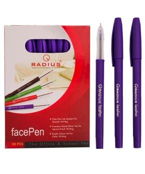 Купить Ручка «FAСEPEN» RADIUS, фиолетовая