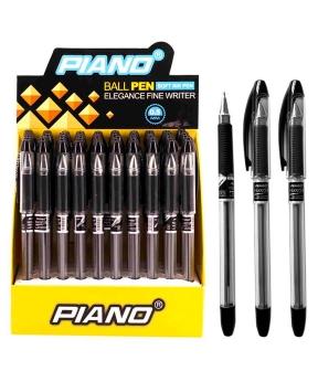 Купить Ручка масляная PIANO PT-335 50шт, черная