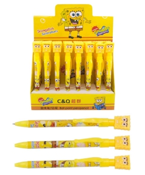 Купить Ручка шариковая, синяя Спанч-Боб 2529