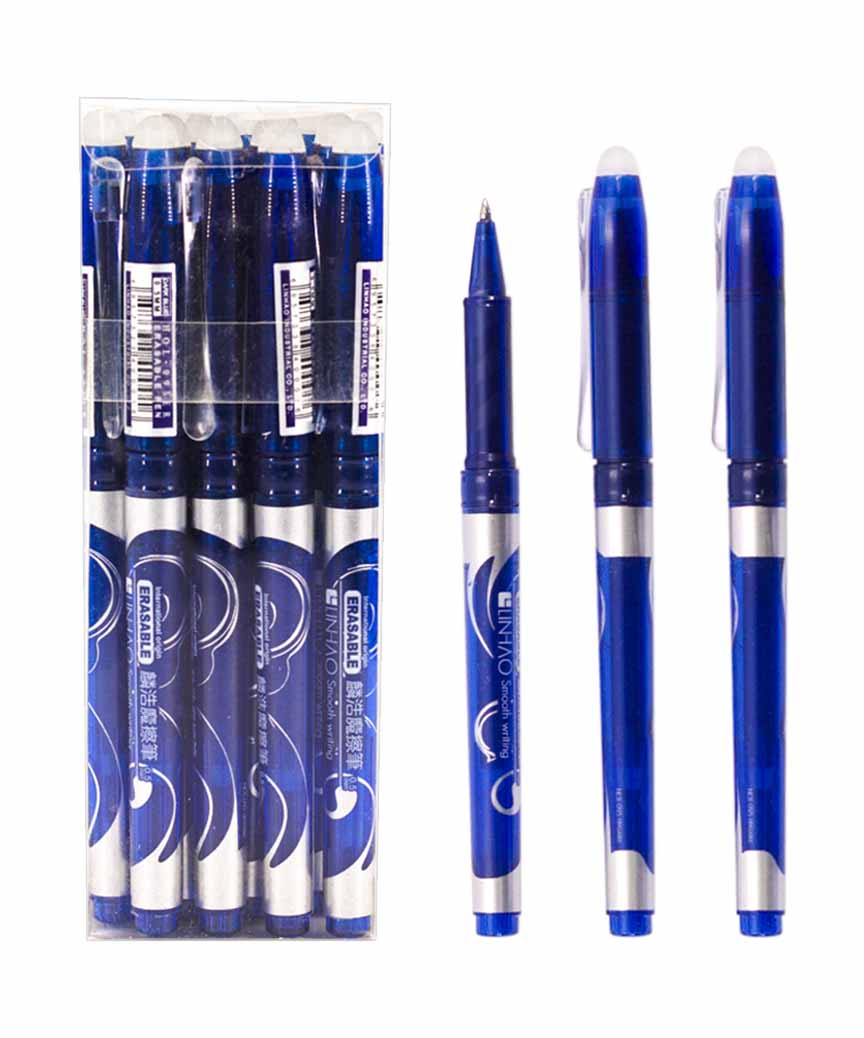 Ручка гелевая пишет- стирает  HOL-095, синяя