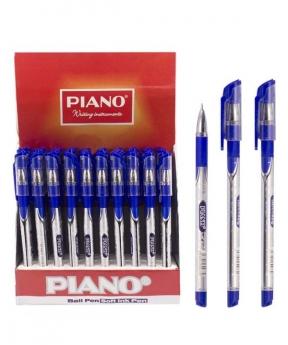 Купить Ручка масляная PIANO PT-195-С, синяя