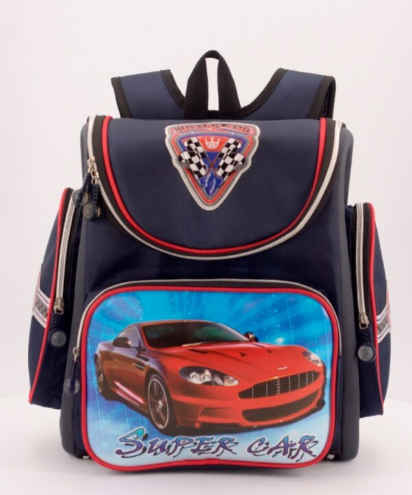Рюкзак ортопедический 0205 авто 33*23*14см