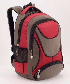 Купить Рюкзак ортопедический 0420 красно-коричневый 37*23*12см