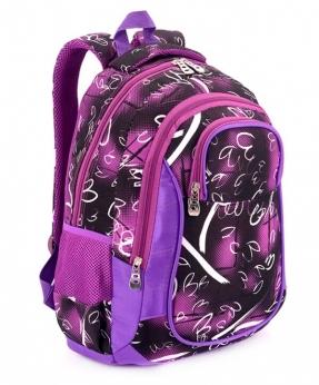 Купить Рюкзак подростковый 4102 фиолетовый Плаза 40*27*16см