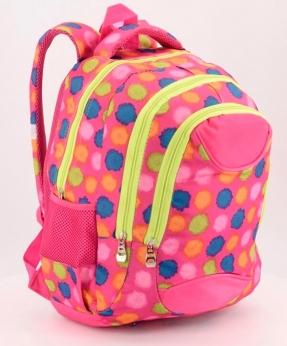 Купить Рюкзак подростковый 4106 розовый 40*27*16см