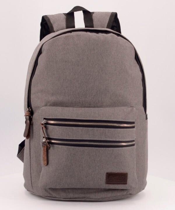 Рюкзак молодёжный 4121-1 серый 41*29*14см