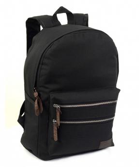 Купить Рюкзак молодёжный 4121 черный 41*29*14см