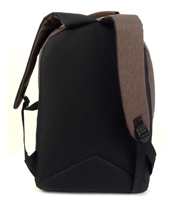 Рюкзак молодёжный 4126 тёмно-коричневый 45*30*12см