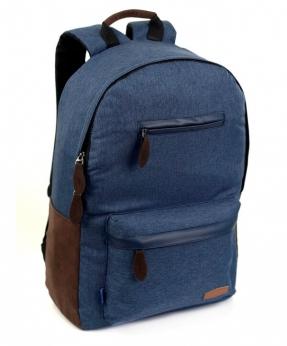 Купить Рюкзак молодёжный тёмно-синий 4128