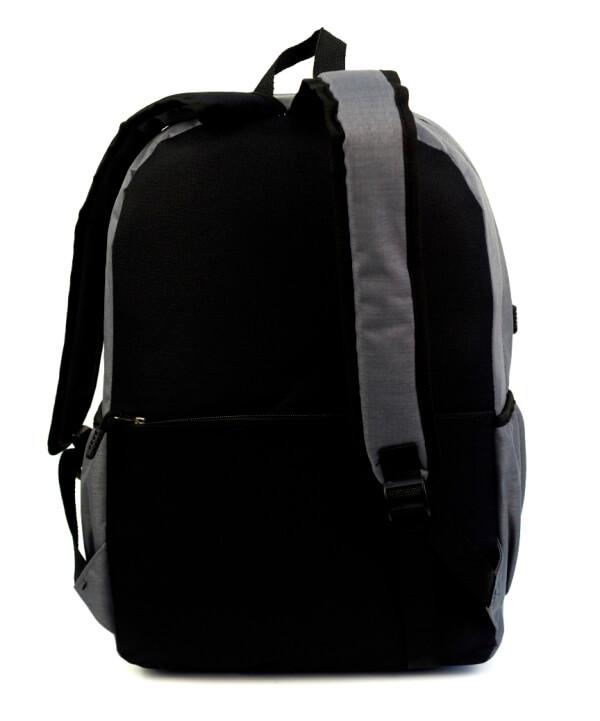 Рюкзак  молодёжный 4131 серый 42*28*14см