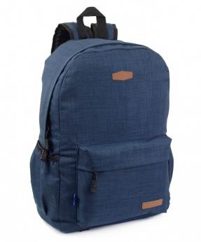 Купить Рюкзак молодёжный синий 4132