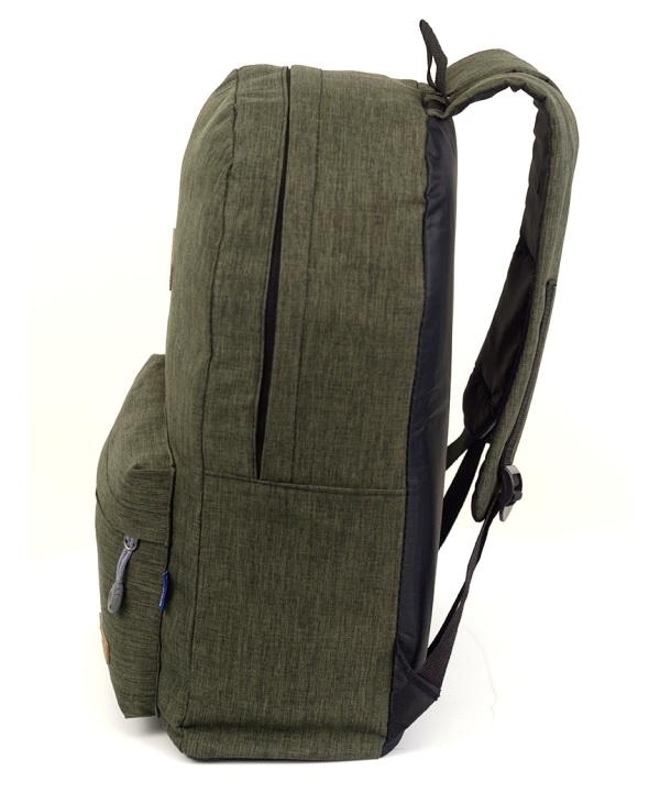 Рюкзак молодёжный 4137 оливковый 41*29*12см