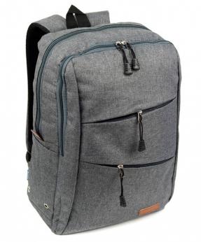 Купить Рюкзак молодёжный серый 4146