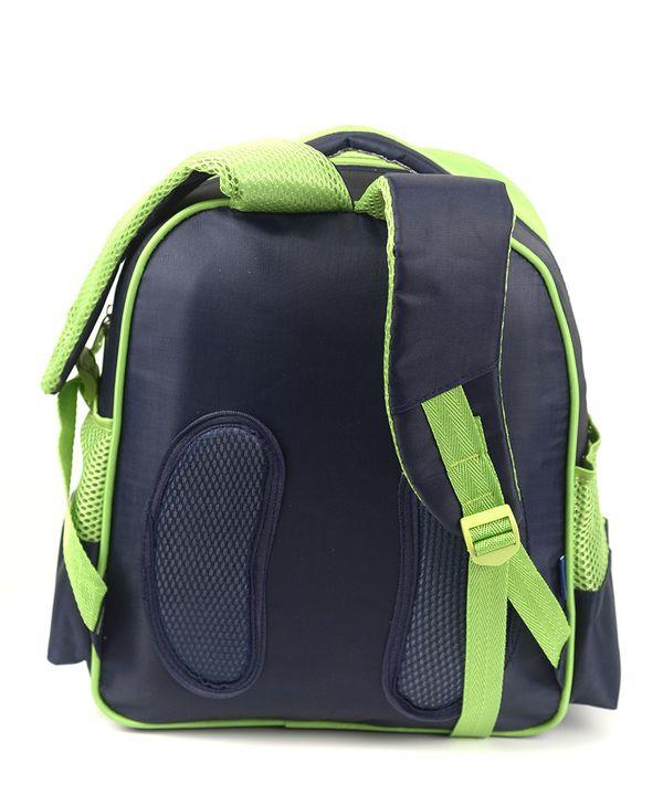 Рюкзак детский 4165 зелёный мотоцикл 35*28*12см