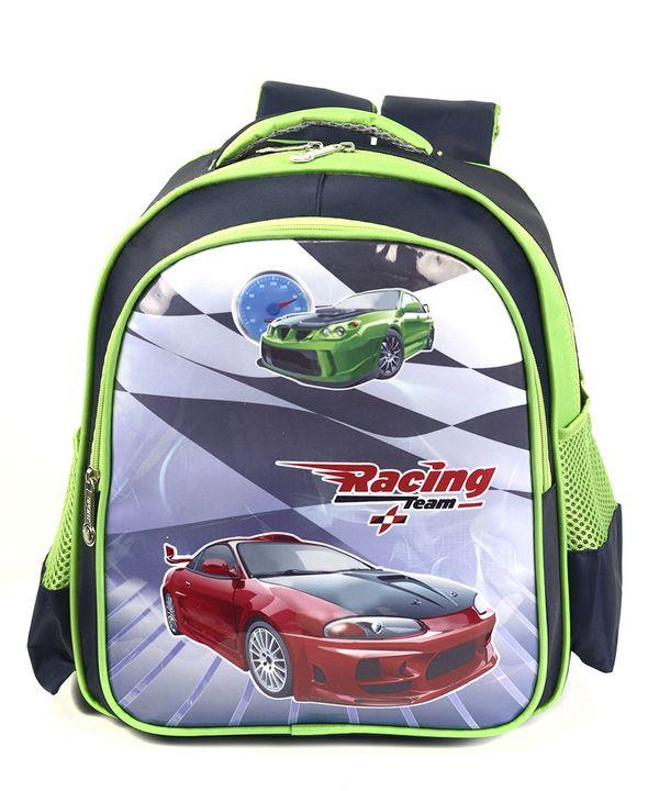 Рюкзак детский 4166 машина красная 35*28*12см